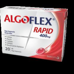 Algoflex rapid 400mg lágy kapszula 20x
