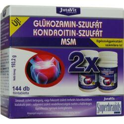 JutaVit Glükozamin + kondroitin + msm 144x