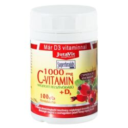 JutaVit C-vitamin 1000mg filmtabletta csipkebogyóval  + D3 vitaminnal+cink 100x