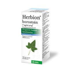 Herbion borostyán szirup 7mg/ml