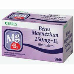 Béres Magnézium 250 mg+B6 filmtabletta 90x
