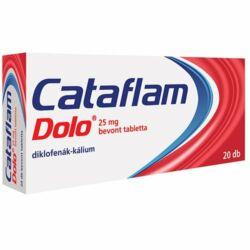 Cataflam Dolo 25mg bevont tabletta 20x