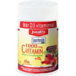 JutaVit C-vitamin 1000mg filmtabletta csipkebogyó kivonattal + D3 vitaminnal 45x
