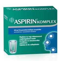 Aspirin Komplex 500mg/30 mg szuszpenzió 20x