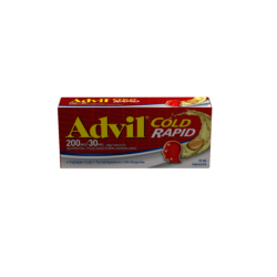 Advil Cold Rapid 200 mg/30mg lágy kapszula 10X