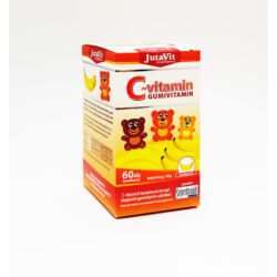 Jutavit C-vitamin banánízű gumivitamin 60X