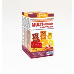 Jutavit Multivitamin gyümölcs ízű gumivitamin 60X