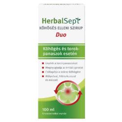 HerbalSept Duo köhögés elleni szirup 100ml