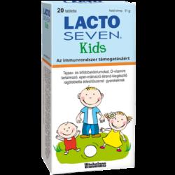 Lacto Seven Kids rágótabletta 20X