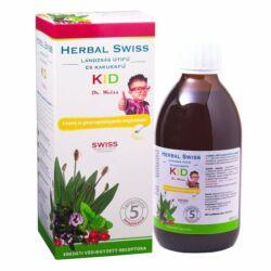Herbal Swiss Kid étrendkiegészítő folyadék 300 ml