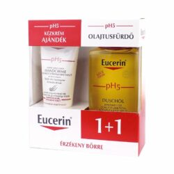 Eucerin pH5 csomag olajtusfürdő+kézkrém (200ml+75ml)
