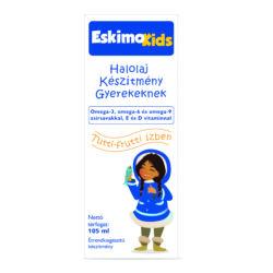 Eskimo Kids halolaj tutti-frutti ízben 105ml