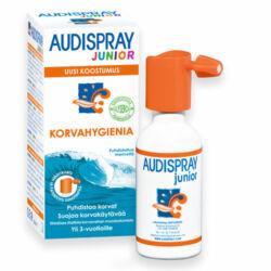 Audispray junior fülspray 3 éves kortól 25ml