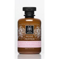 APIVITA Tusfürdő illóolajokkal, bőrfiatalító rózsával & borssal