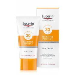 Eucerin Sun Sensitive Protect Napozó krém arcra FF30 200ml