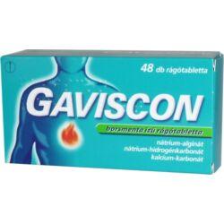 Gaviscon menta ízű rágótabletta 48x