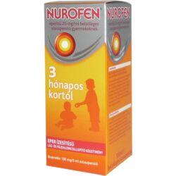 Nurofen szuszpenzió eper 20mg/ml gyerekeknek 100ml
