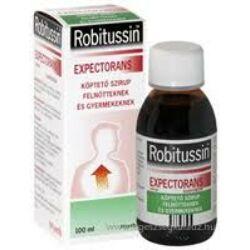 Robitussin Expectorans köptető szirup 100ml