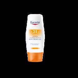 Eucerin - Sun krémgél napallergia ellen FF25 150ml