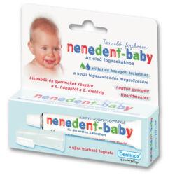 Nenedent baby tanulószett fogkrém+fogkefe 20ml
