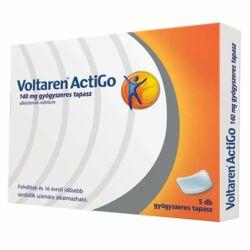 Voltaren ActiGo 140mg gyógyszeres tapasz 5x