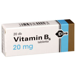 Vitamin B6 EGIS 20mg tabletta 20x