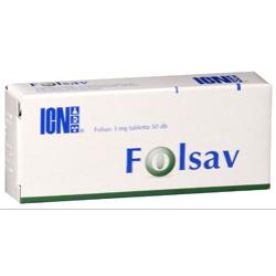 Folsav 3mg tabletta 50x