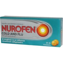Nurofen Cold and Flu 200mg/30mg filmtabletta 24x