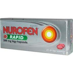 Nurofen Rapid 200mg lágy kapszula 20x