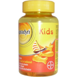 Supradyn Kids Omega-3 multivitamin gumicukor 60x