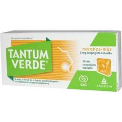 Tantum Verde narancs-méz szopogató tabletta 20x