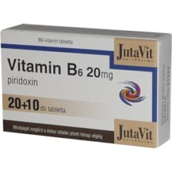 JutaVit B6-vitamin 20mg tabletta 30x