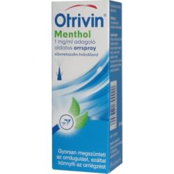 Otrivin Menthol 1mg/ml orrspray 10ml