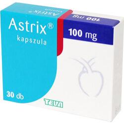 Astrix 100mg gyomornedv ellenálló kemény kapszula 30x