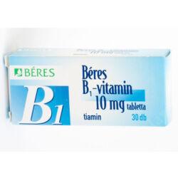 Béres B1 vitamin 10mg tabletta 30x