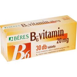 Béres B6 vitamin tabletta 30x