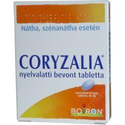 Coryzalia nyelvalatti bevont tabletta 40x