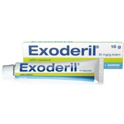 Exoderil 10mg/g krém 15g