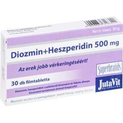 JutaVit Diozmin+Heszperidin 500mg tabletta 30x