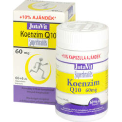 JutaVit Koenzim Q10 60mg tabletta + E vitamin 60+6x