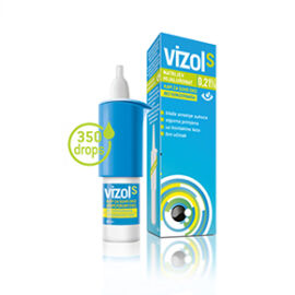 Vizol S  0,21% oldatos szemcsepp 10 ml