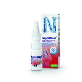 SeptaNazal 1mg/1ml +50mg/1ml oldatos orrspray felnőtteknek 10 ml