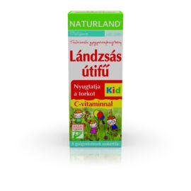 Naturland lándzsás utifű C-vitaminnal Kid szirup 150ml
