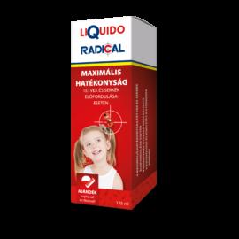 LiQuido Radical tetű és serke ító sampon 125 ml