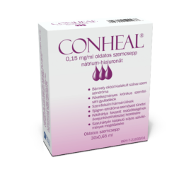 CONHEAL 0,15 mg/ml oldatos szemcsepp 30X