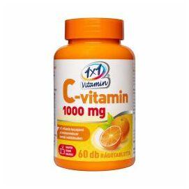 1x1 Vitaday C-vitamin 1000mg rágótabletta narancs 60x