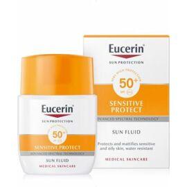 Eucerin Sun Sensitive Protect Mattító napozó fluid FF50+
