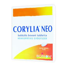 Corylia Neo  nyelvalatti bevont tabletta 40x