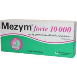 MEZYM FORTE® 10000 gyomornedv-ellenálló filmtabletta 50X