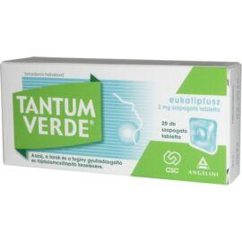 Tantum Verde eukaliptusz 3mg szopogató tabletta 20x
